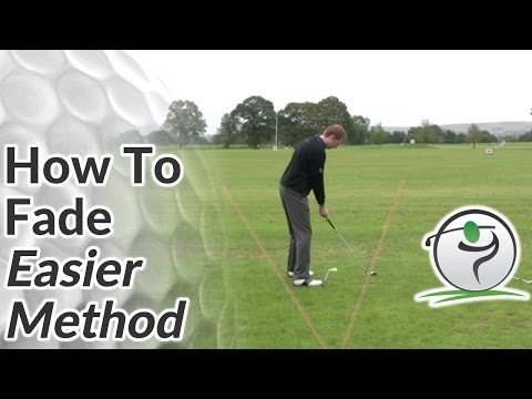 Golf Fade - How to Fade the Ball (Easier Method)