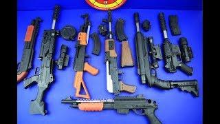 Box of Toys ! GUNS BOX Toys Military & Police equipment | Gun toy (11)