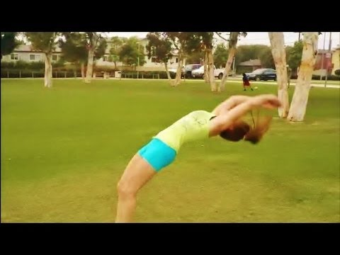 Improve Your Round Off Back Handspring With Coach Meggin (Professional Gymnastics Coach)