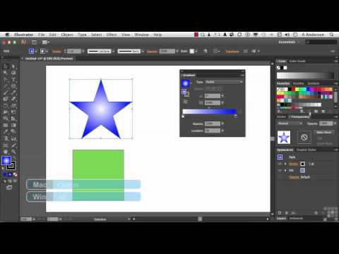 Adobe Illustrator CS6 Tutorial | Working with Gradients | InfiniteSkills