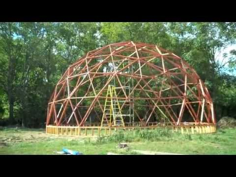 BUILDING A 40 FOOT GEODESIC DOME (PART 2)