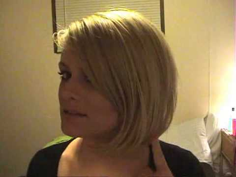 Short Angled Bob with Extensions