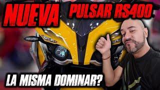 NUEVA PULSAR RS400   La misma Dominar?
