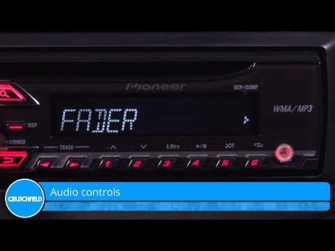 Pioneer DEH-150MP Display and Controls Demo   Crutchfield Video