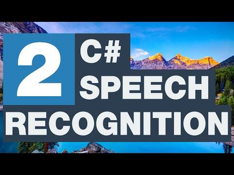 C# Speech Recognition - Türkçe ve İngilizce karşılık verme 2/3