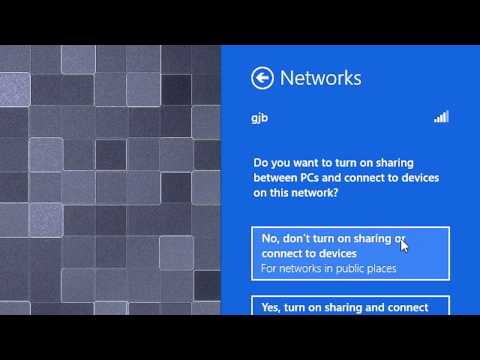 Windows 8   How to Connect to a Wireless Network