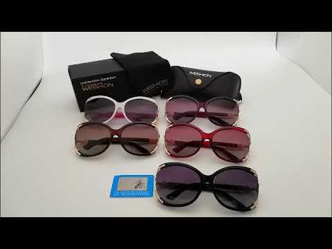 Sunglasses women brand designer polarized classic square ladies elegant eyewear glasses fashion
