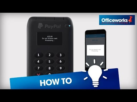 PayPal Tap n Go Mobile Card Reader - Chip & Pin