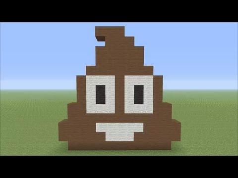 Superior The Big Minecraft Build (#23) Small Poop Emoji Pixleart   PakVim | Fastest  HD Video Experience Pak Vim