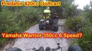 Cammed out Predator 420cc test run Videos & Books