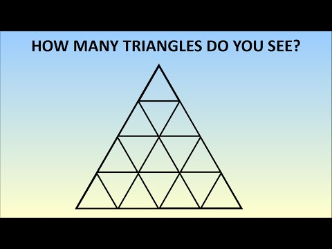 How Many Triangles Are There? Learn The Formula For Any Size!