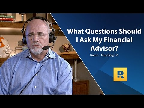 What Questions Should I Ask My Financial Advisor?