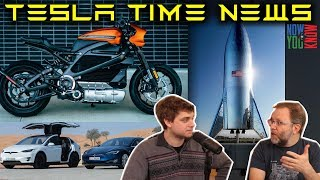 Download Tesla Time News - S/X 75 Ditched, New Harley E-Motorcycle, StarHopper Video