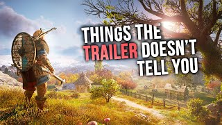Assassin's Creed Valhalla - Things the Trailer DOESN'T Tell You