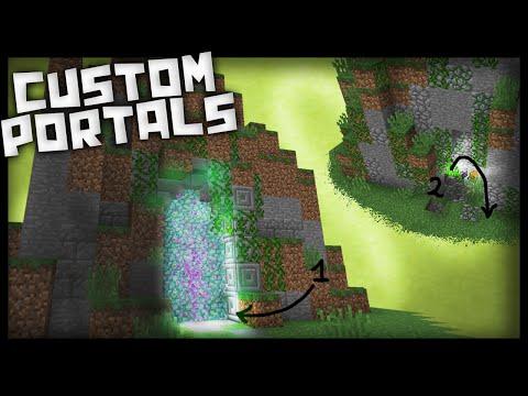 Minecraft: How to make working custom portals