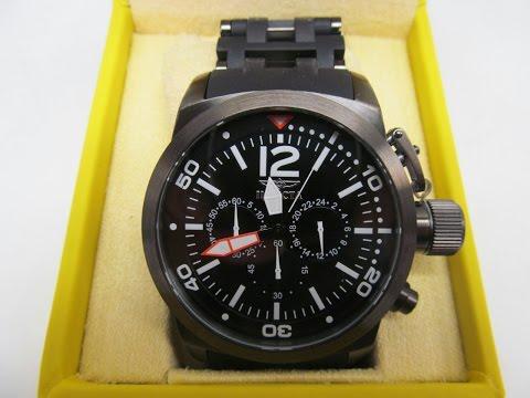 Invicta Watch 14870 Sea Spider Chronograph Black Gun Metal