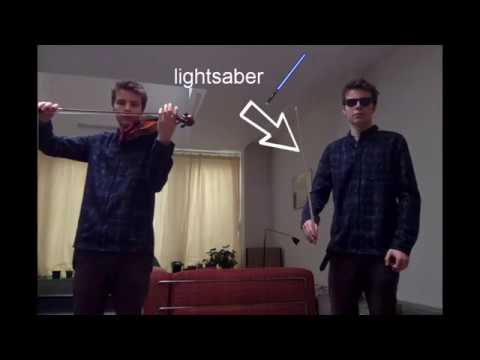 How to make a violin sound like a lightsaber