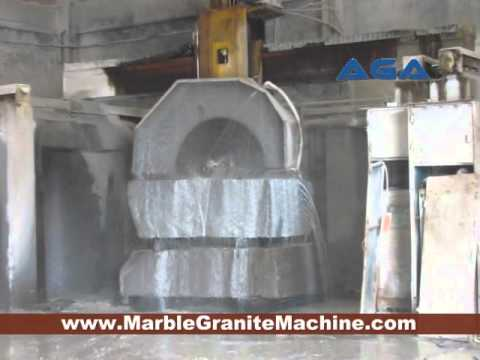 Mulit Blades Granite Block Cutting Machine Making Slabs DQ2200 2500 2800 AGA
