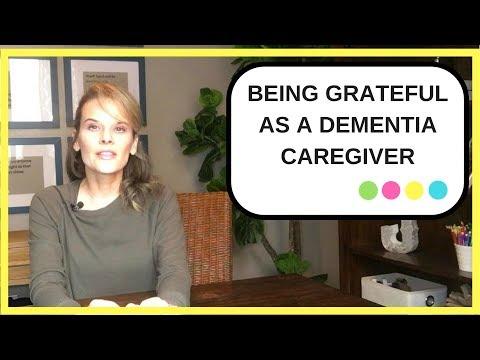 How Gratitude can help reduce dementia caregiver stress