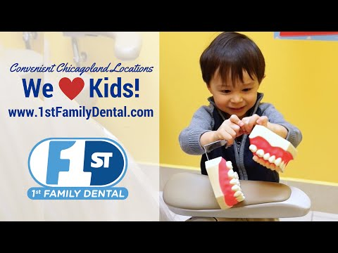 A Great Dentist for Kids! Kid's Dental Check Ups are Great at 1st Family Dental!