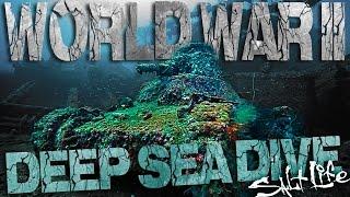 World War II Sunken Ship Historic Deep Sea Dive