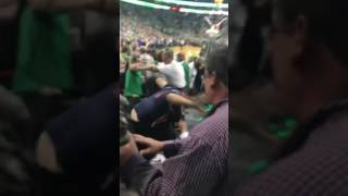 FIST FIGHT- GAME 7 Eastern Conference Semifinals: Boston Celtics vs. Washington Wizards 5/15/17