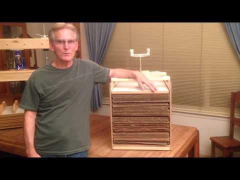 Paper Making Drying Box