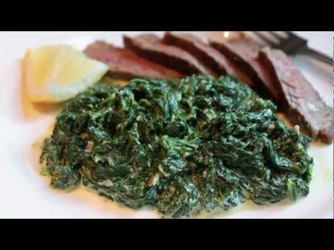 Fast & Easy Creamed Spinach - Creamy Spinach Side Dish