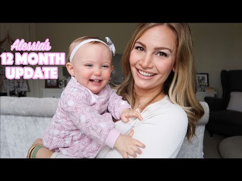 12 Month Baby Update! | Alessia