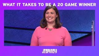 Jeopardy Alex Trebek And Ken Jennings Discuss Julia Collins Win Streak