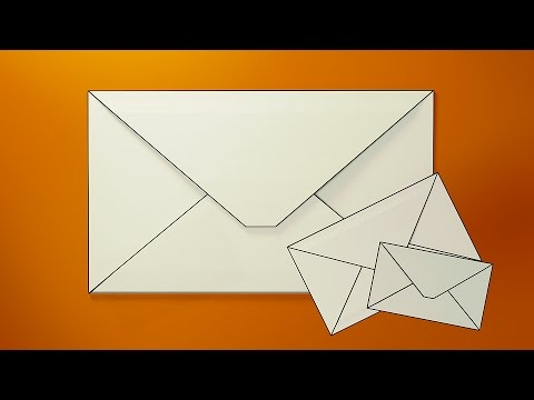 How To Make ENVELOPE With Paper At Home