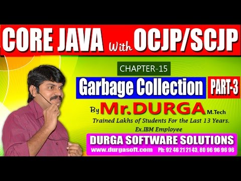 Core Java With OCJP/SCJP-Garbage Collection-Part-3