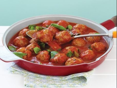 How to Cook Beef Meatballs with Spicy Tomato Sauce