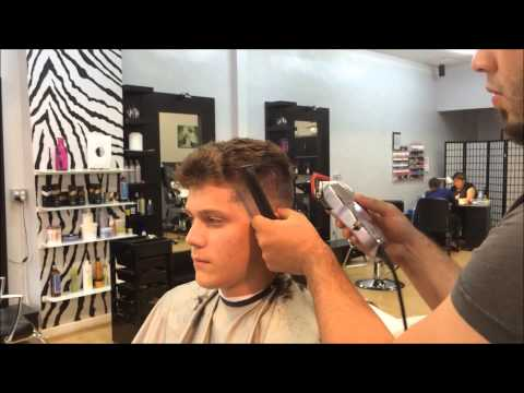 How to Fade- How to Clipper cut - How to Cut a Fade -  High and Tight