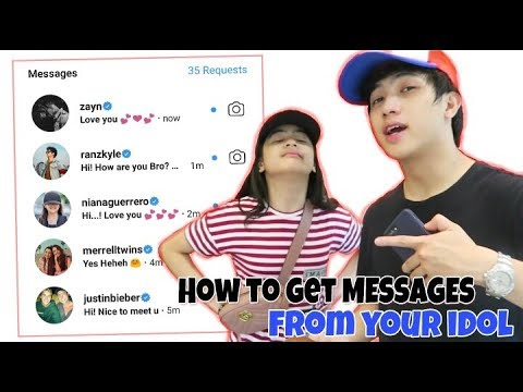 How To Get Messages From Your Idol   Ranz And Niana