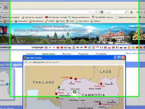Cambodia E-Visa Applying  Guide