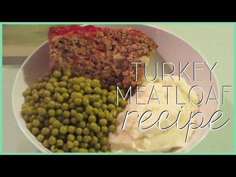 Turkey Meatloaf Recipe!