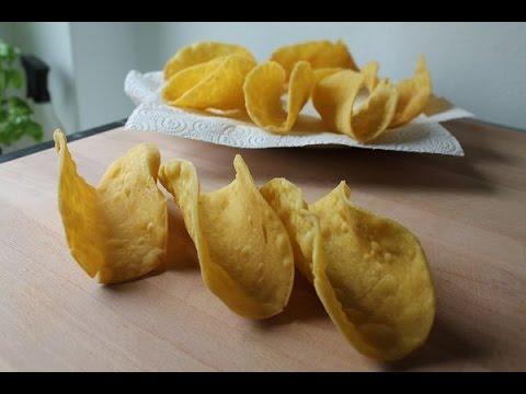 Taco Shells Selber Machen (Rezept) || Homemade Taco Shells (Recipe) || [ENG SUBS]