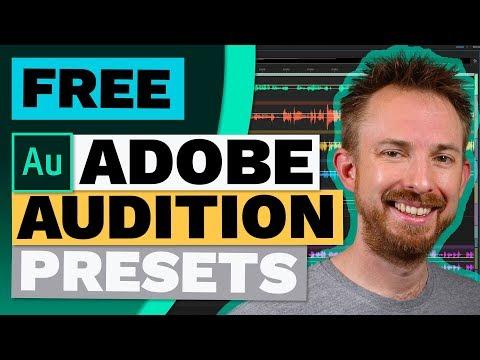 Free Adobe Audition Presets