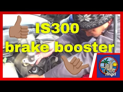 How to replace power brake booster Lexus IS300 √