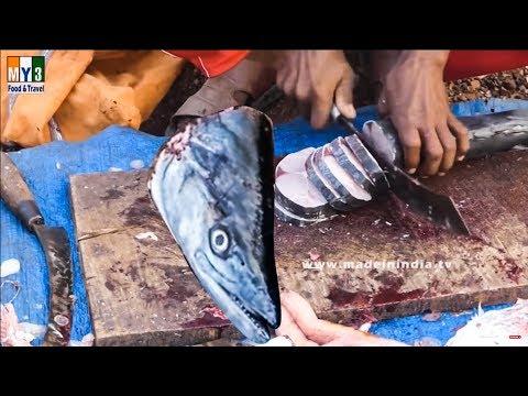 30 Minutes Fish Cutting street food