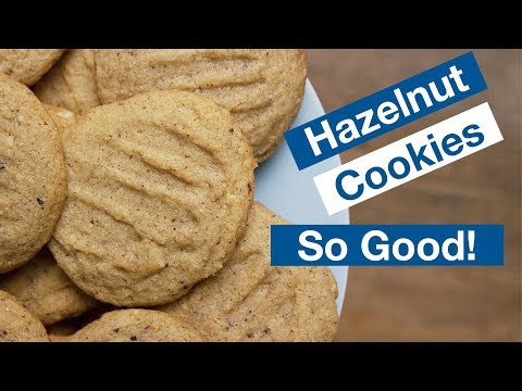 How To Make Hazelnut Cookies || Le Gourmet TV Recipes
