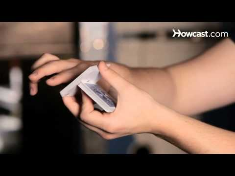 How to Cut the Deck One-Handed   Card Tricks