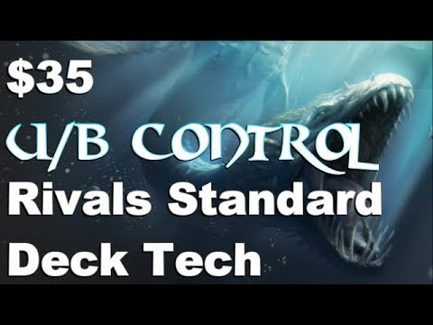 Mtg Budget Deck Tech: $35 U/B Control in Rivals of Ixalan Standard (With Upgrades)!
