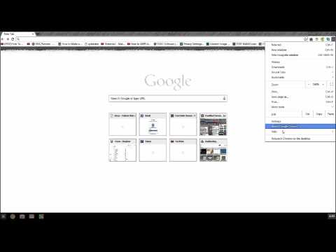 How to Start Google Chrome in Windows 8 Mode Video by Krishna Das