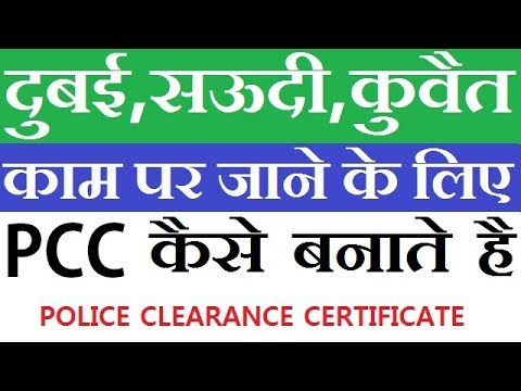 How To Fill PCC Form Online | Police clearance certificate | Payment & Appointment | 2018