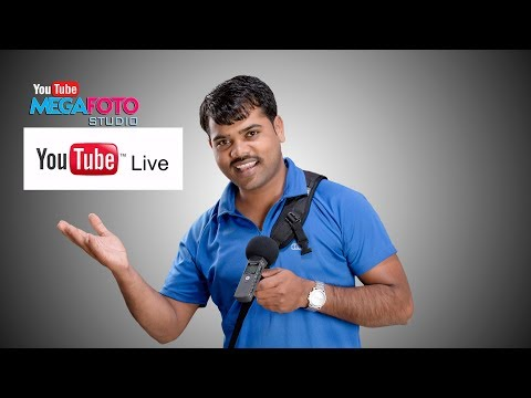 Photography youtube channle LIVE broadcast