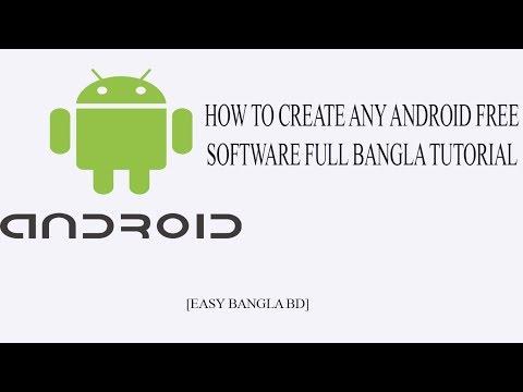 How To Create Any Android Free Apps/কিভাবে আপনি নিজেই খুব সহজে তৈরি করবেন [Easy Banlga BD]