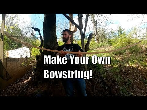 How to Make Your Own Flemish Twist Bow String