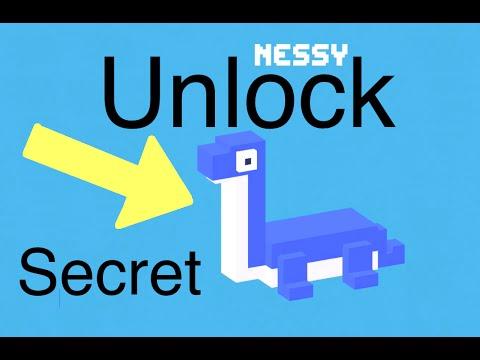 Crossy Road: Unlock Secret Character (Nessy)